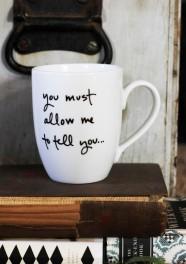 Mr. Darcy Proposal Mug from Brookish