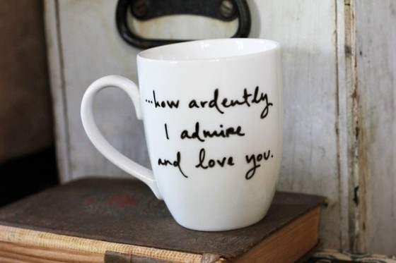 Brookish Mr. Darcy Proposal mug